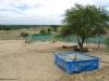 Vorbereitung für das Wasserreservoir