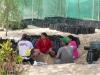Jetzt gekommen wir Hilfe für die 5000 Pflanztüten